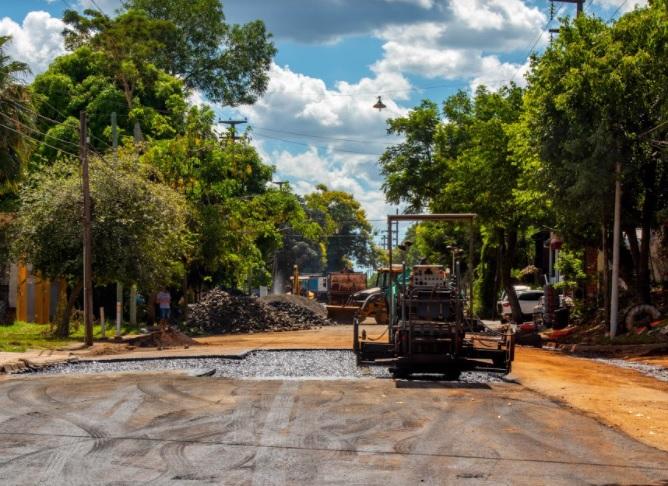 Manos únicas: continúan las obras en Blas Parera