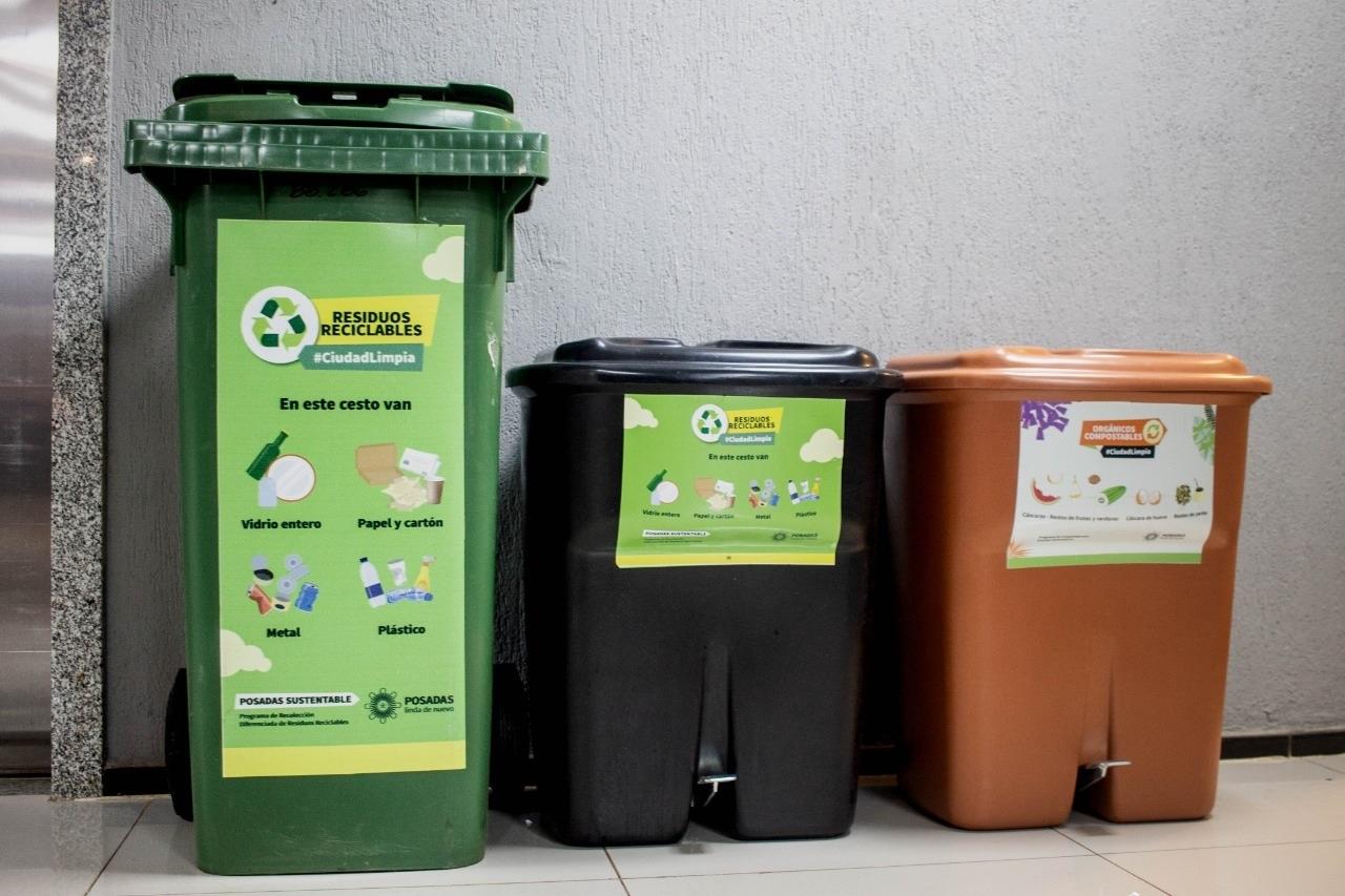 La Muni implementa la separación en origen de residuos